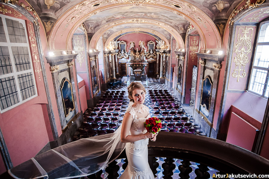 Wedding in Klementinum photo