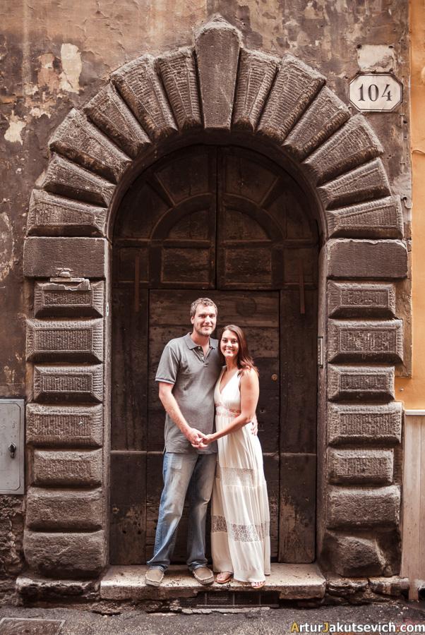 Doors in Rome
