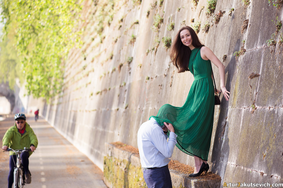 Romantic Rome photography