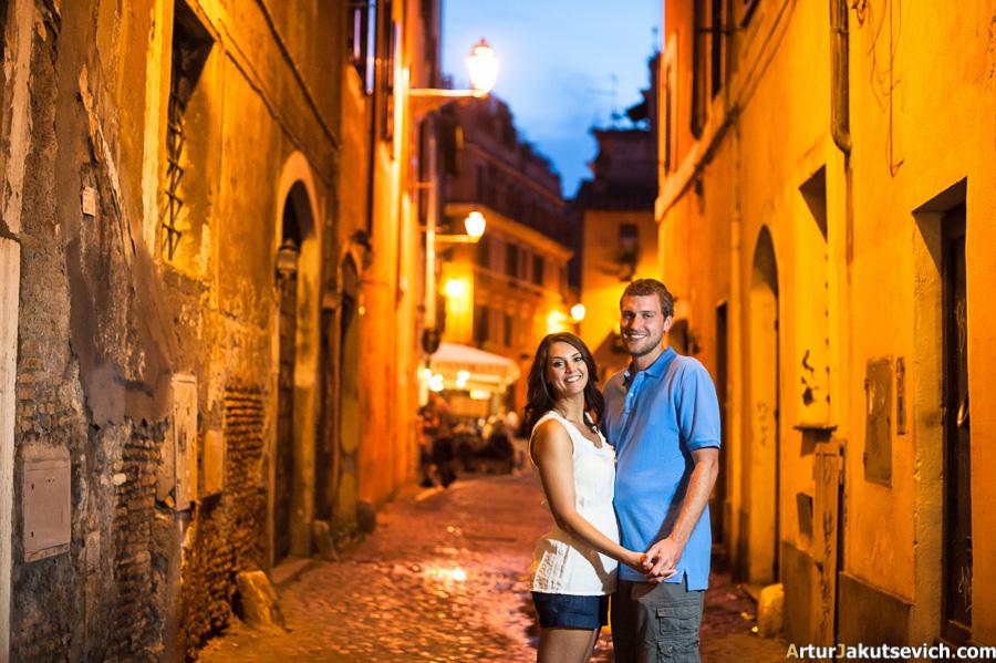 Trastever in Rome