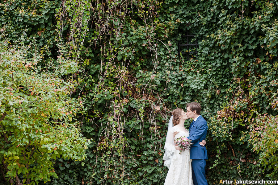 Autumn wedding in Prague
