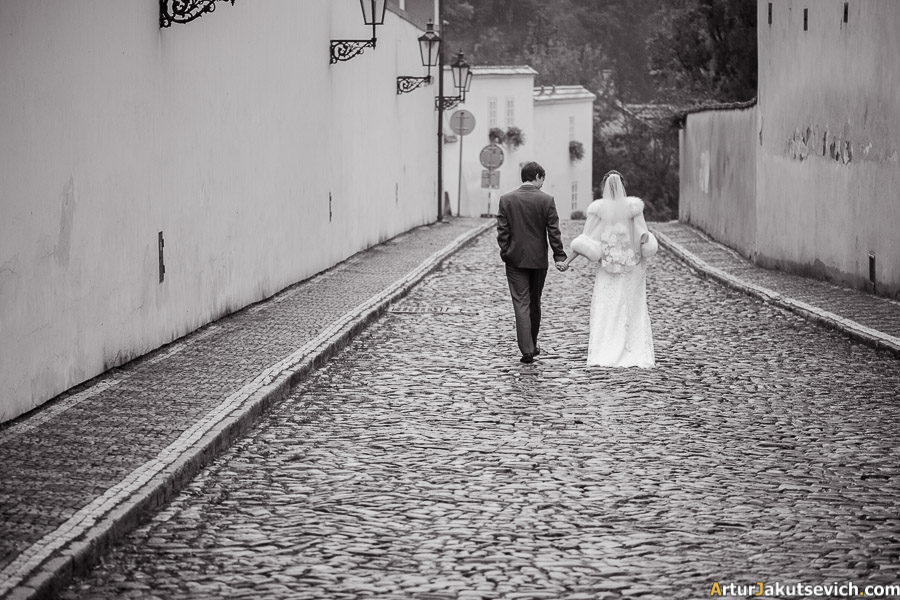 Destination wedding in Prague in October