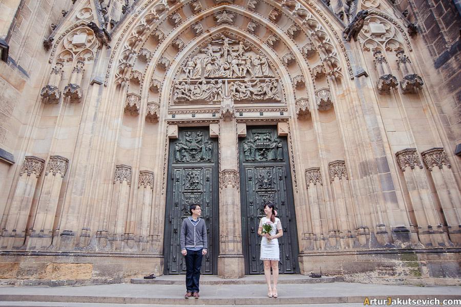 St Vitus Cathedral in Praha