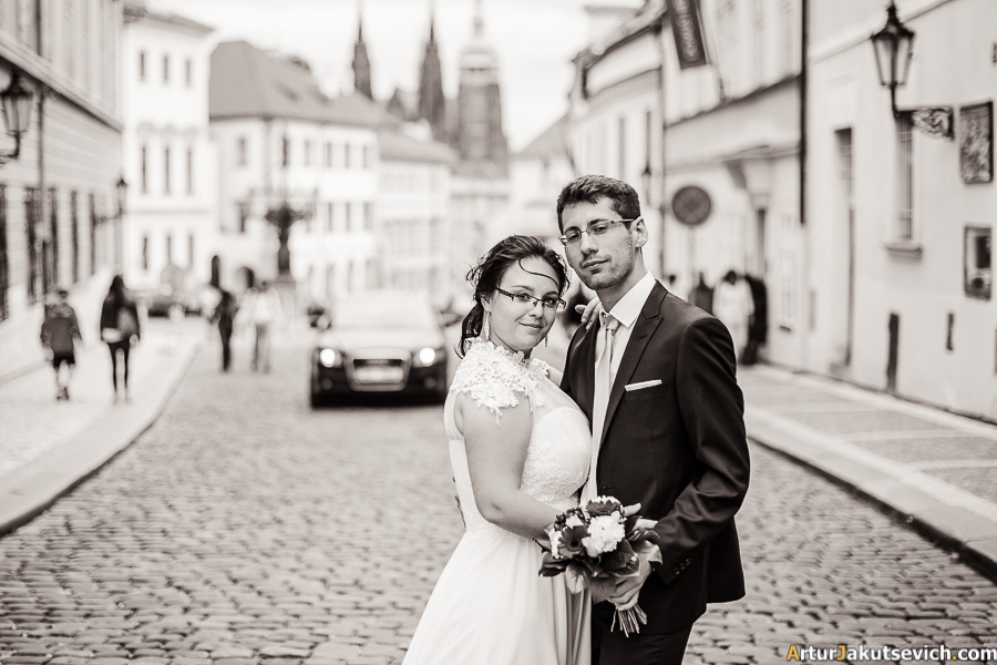 Israel wedding in Prague