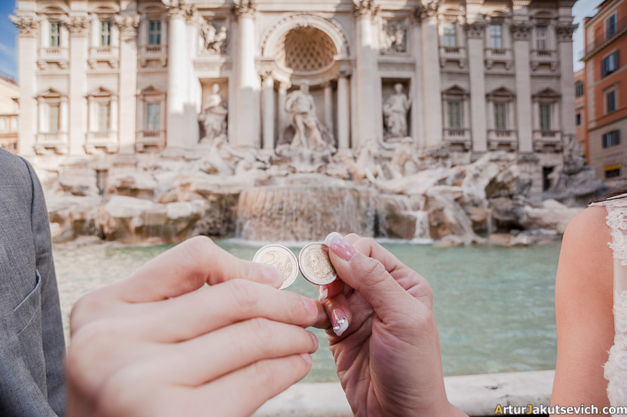 Where to through a coin in Rome