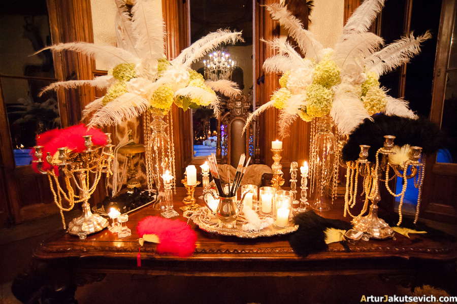 Gatsby style wedding decorations