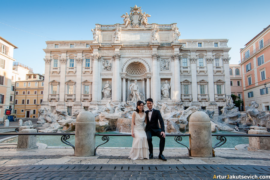 Honeymoon photos from Rome