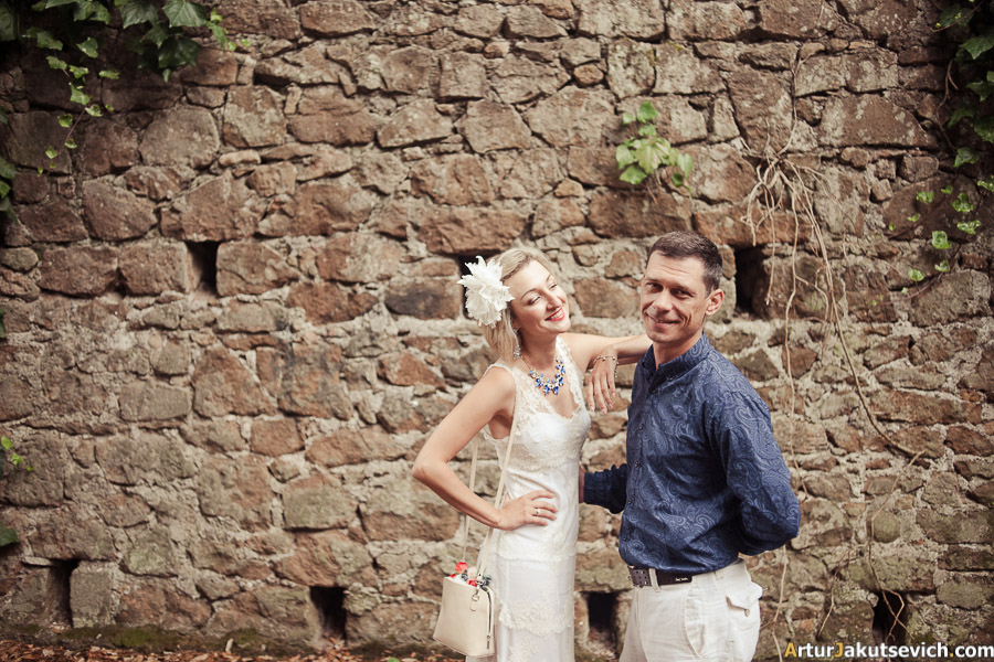 Honeymoon shooting in Rome Italy