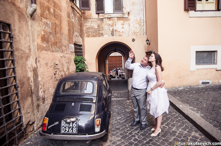 Wedding photography in Italy and Rome