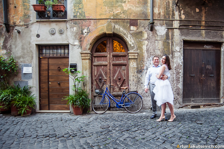 Rome wedding photographer Artur Jakutsevich