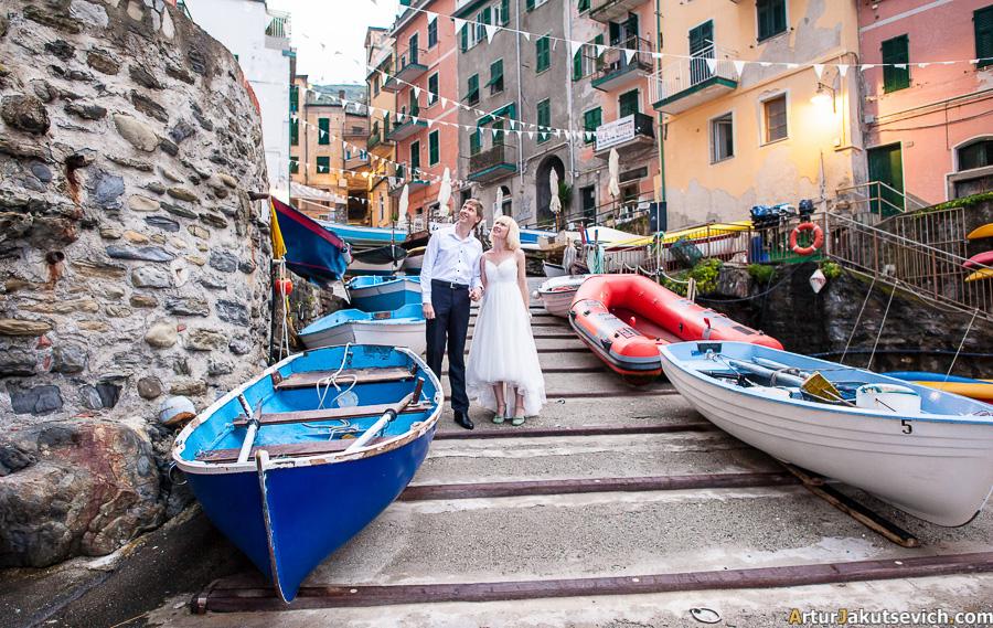 Riomaggiore Wedding Photos Cinqueterre