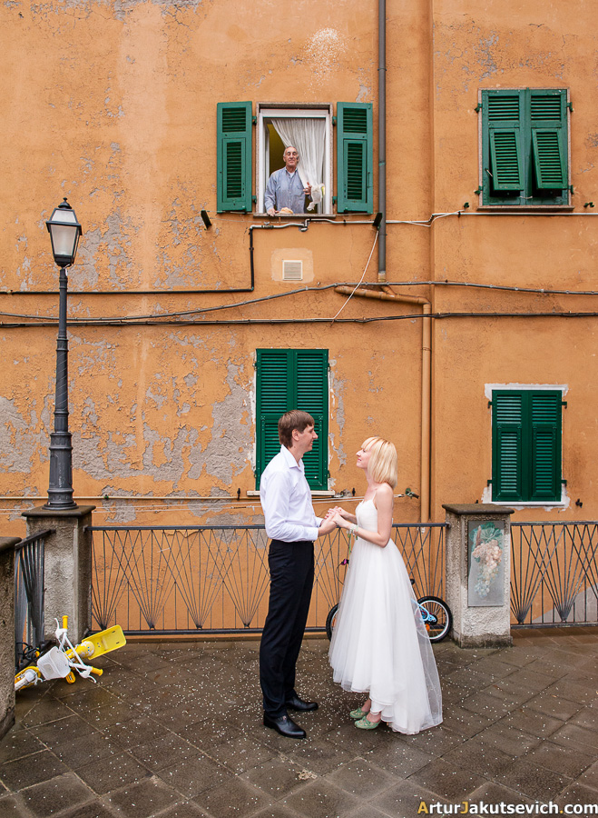 Italian wedding tradition