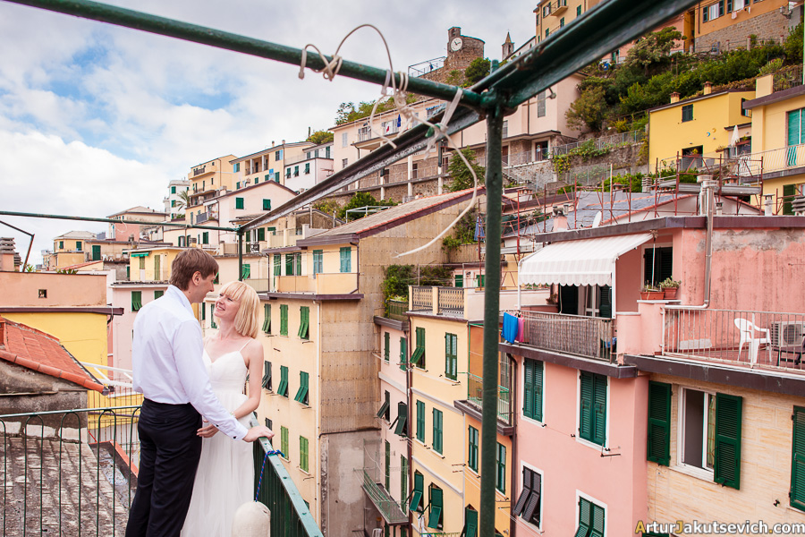 Riomaggiore hotel for wedding trip