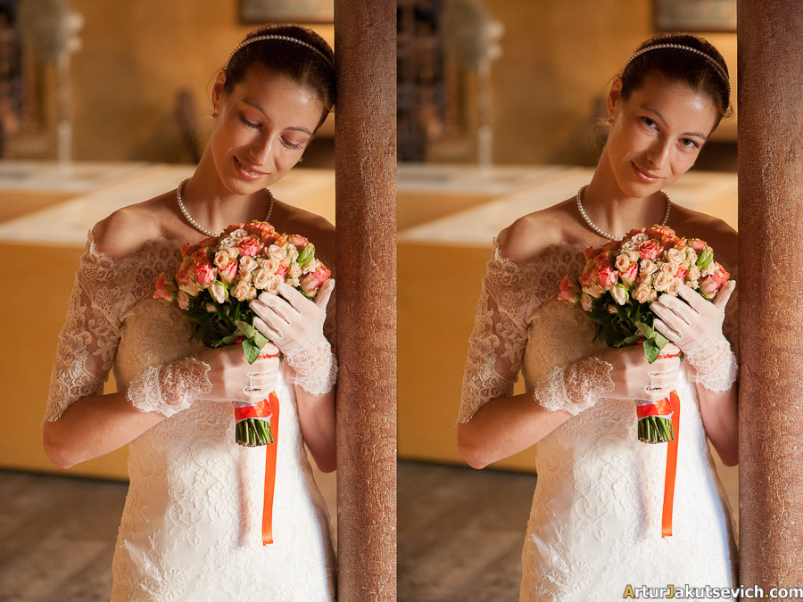Professional wedding photographer in Italy