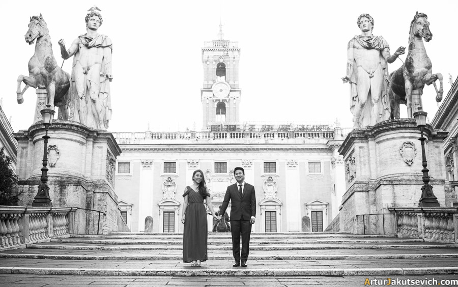Wedding photography in Rome and Italy
