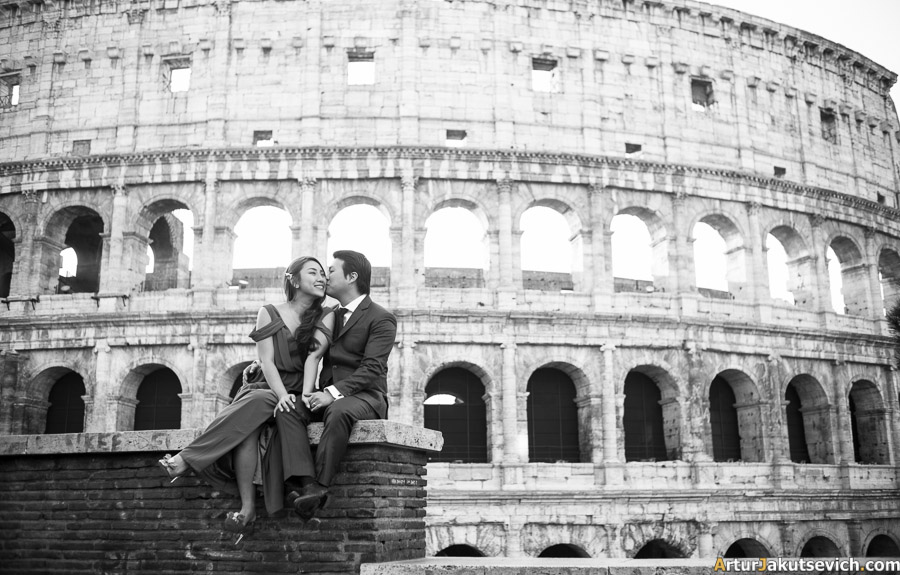 Ideas for a photo shooting in Rome