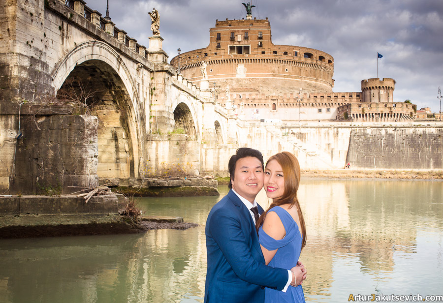Wedding photography in Rome