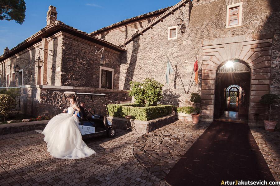 Elopement in Castello Della Castelluccia