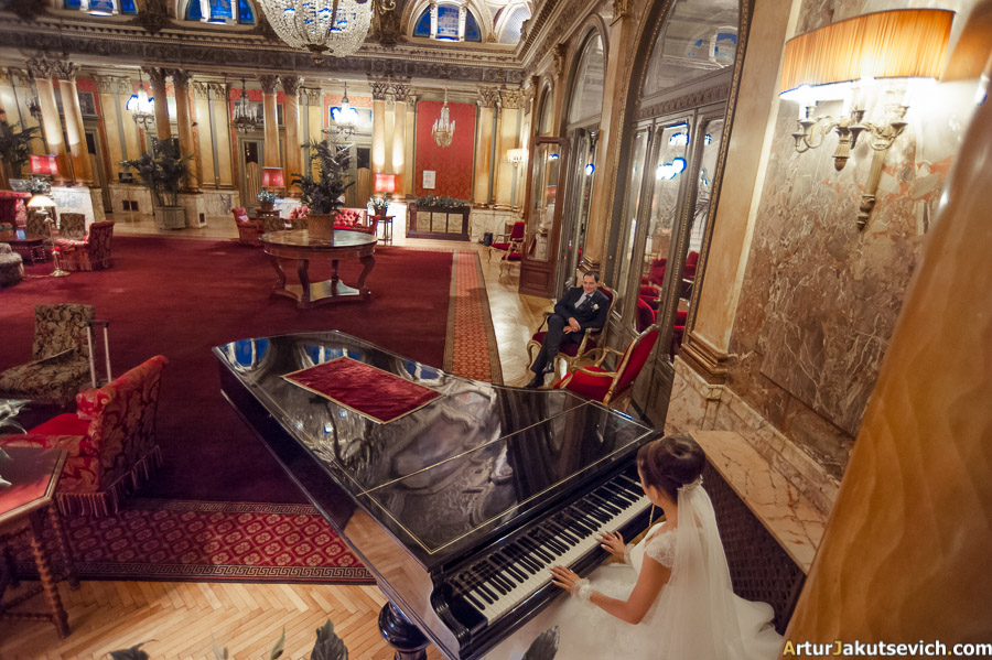 Luxury wedding hotel in Rome