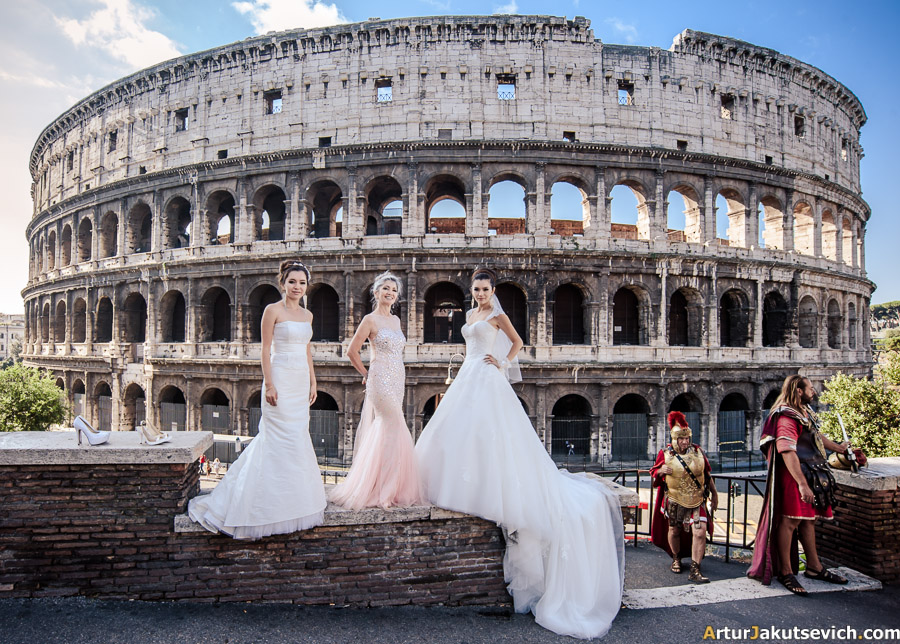 Wedding in Italy in Rome