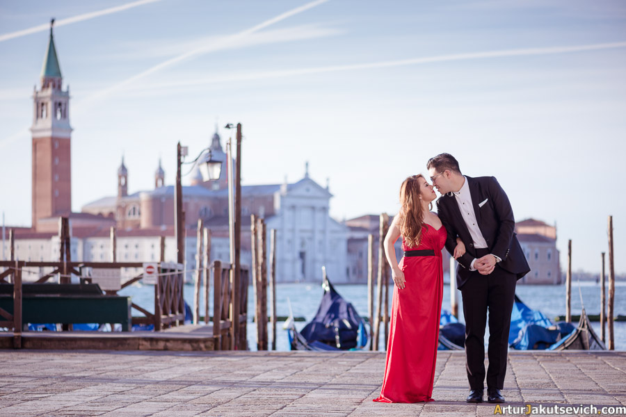 Where to take photos in Venice
