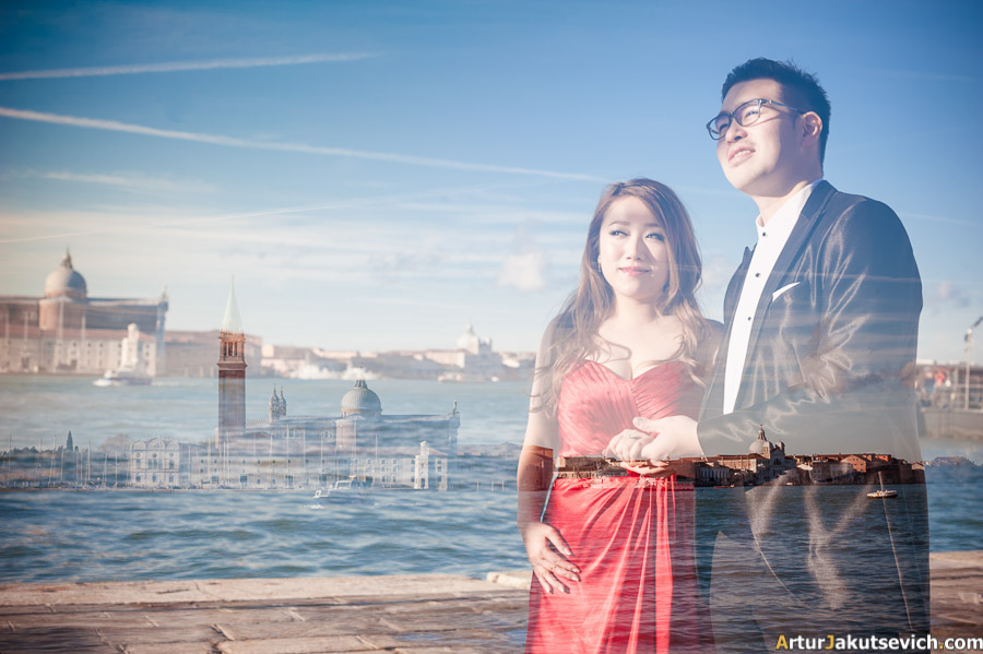 Professional wedding photographer in Venice