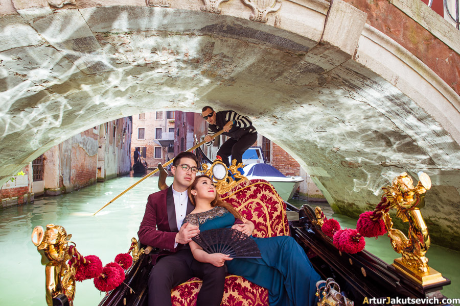 Gondola romantic photo