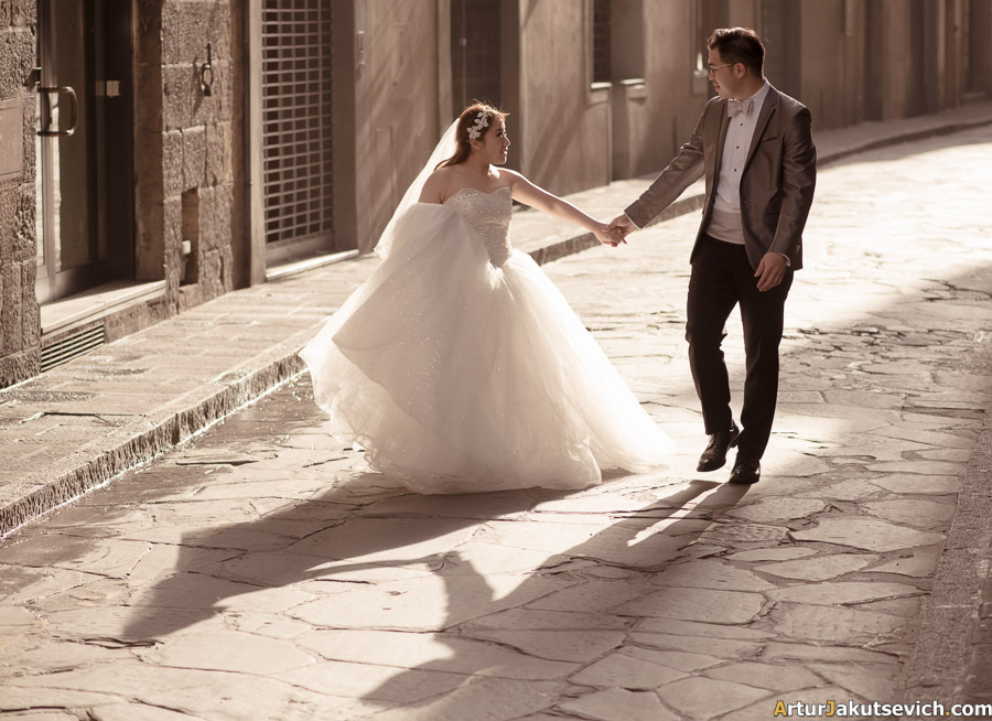 Pre wedding photo in Italy