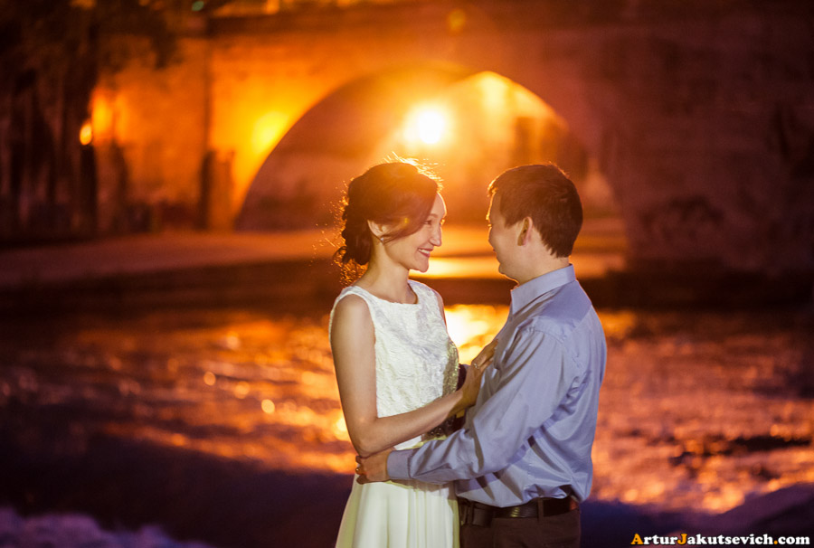Romantic photo shooting in Rome