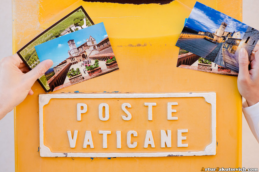 Poste office in Vatican