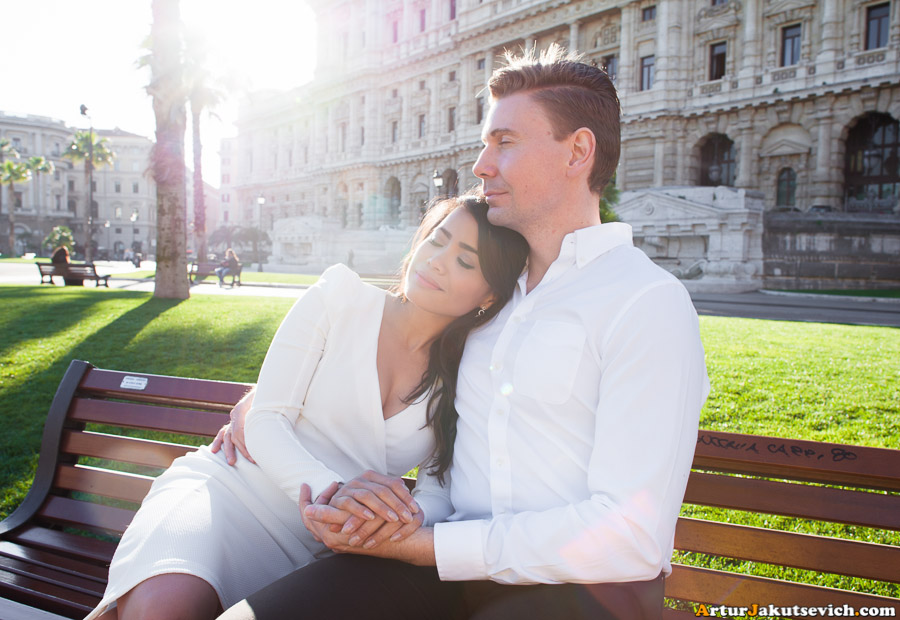 Pre wedding in Italy photo