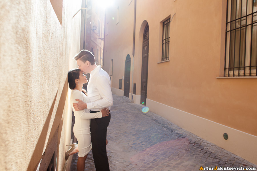 Pre-wedding photos from Italy