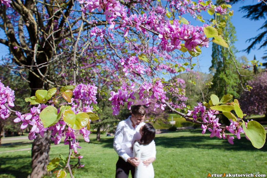 Spring in Rome April