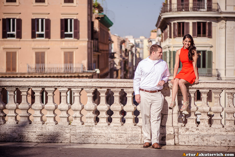 Lovers in Rome