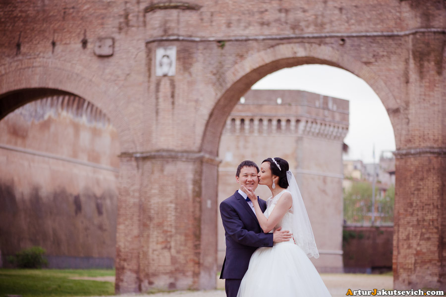 Where to take romantic photos in Rome