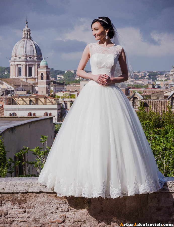 Italian wedding photographer in Rome and Vatican