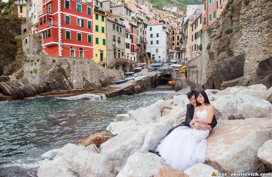 Engagement in Riomaggiore