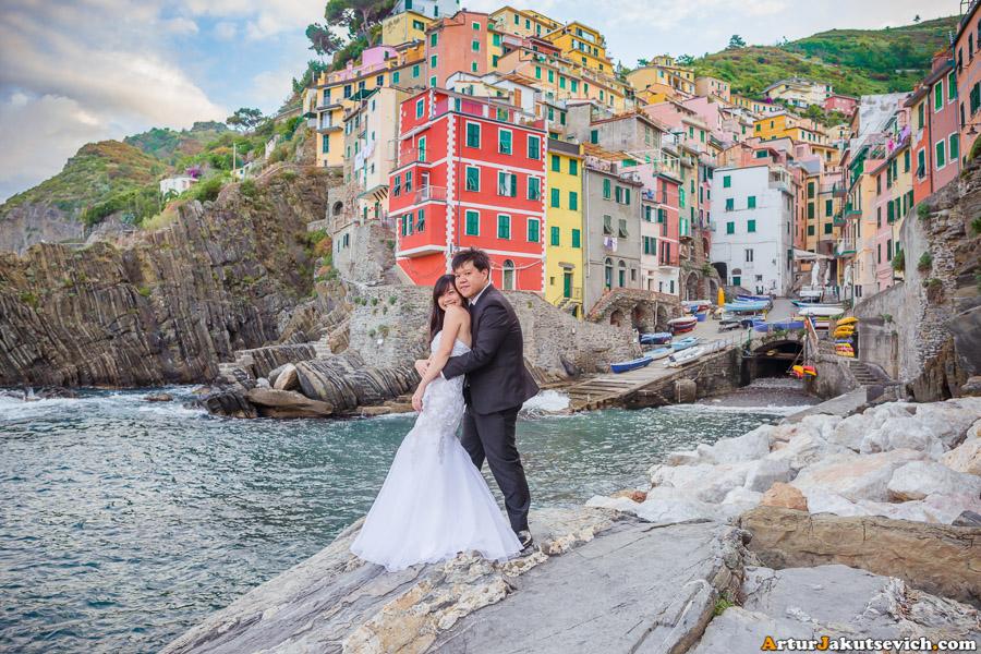 Cinque Terra wedding