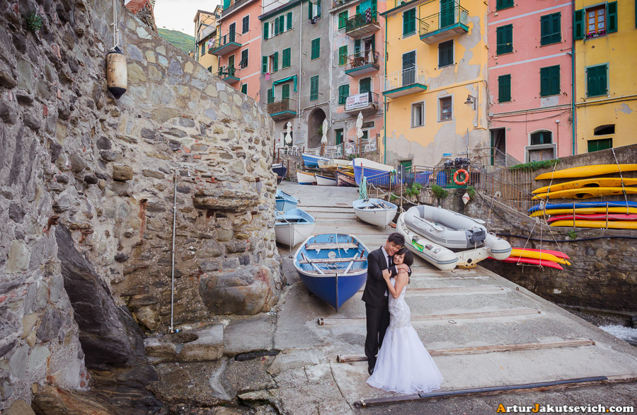 Best place to take photos in Riomaggiore
