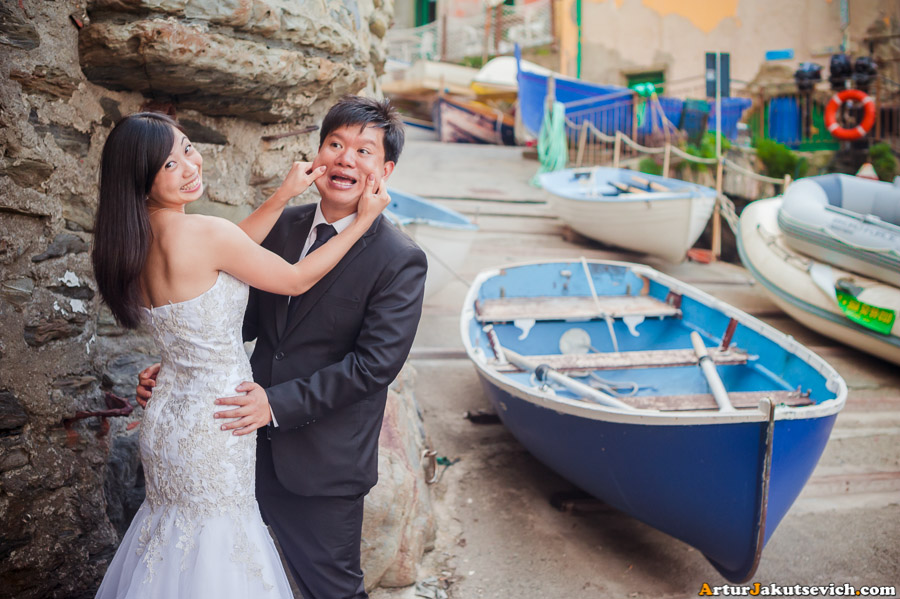Ideas for pre-wedding photo shooting in Italy