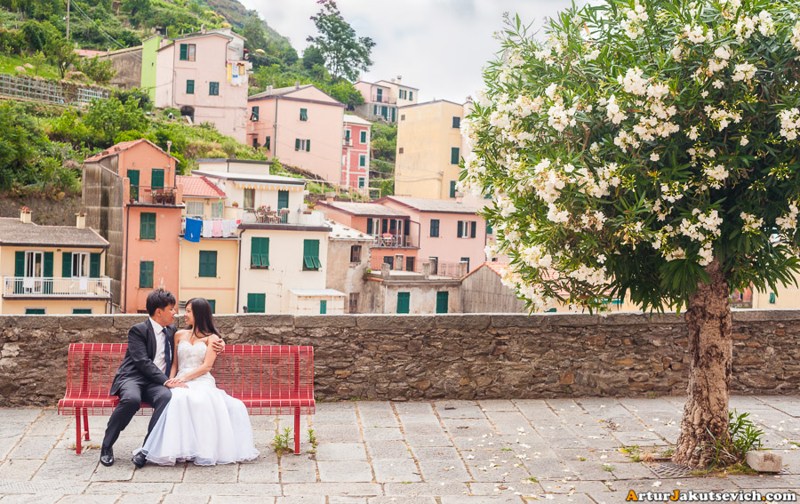 Honeymoon in Riomaggiore