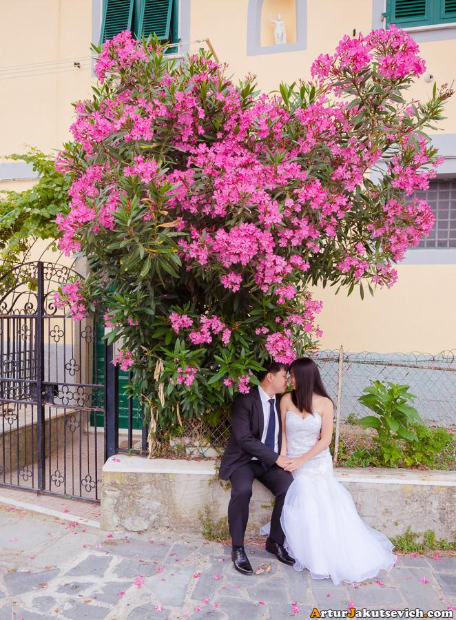 June in Riomaggiore