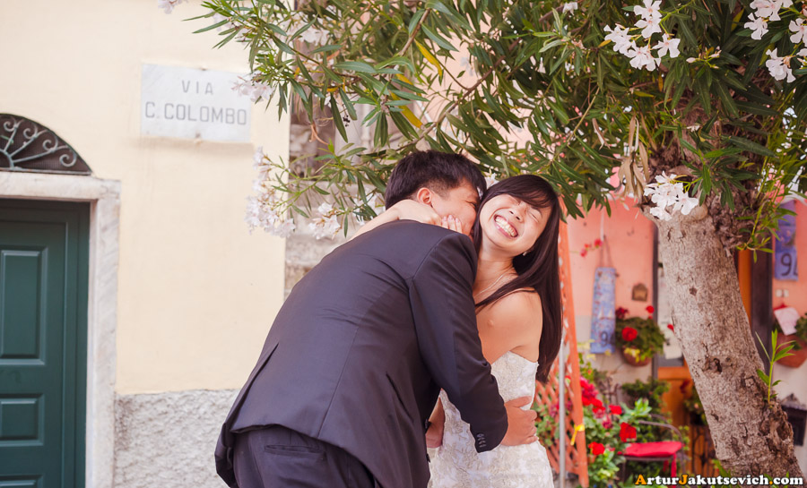 Ideas for wedding photo shooting in Italy