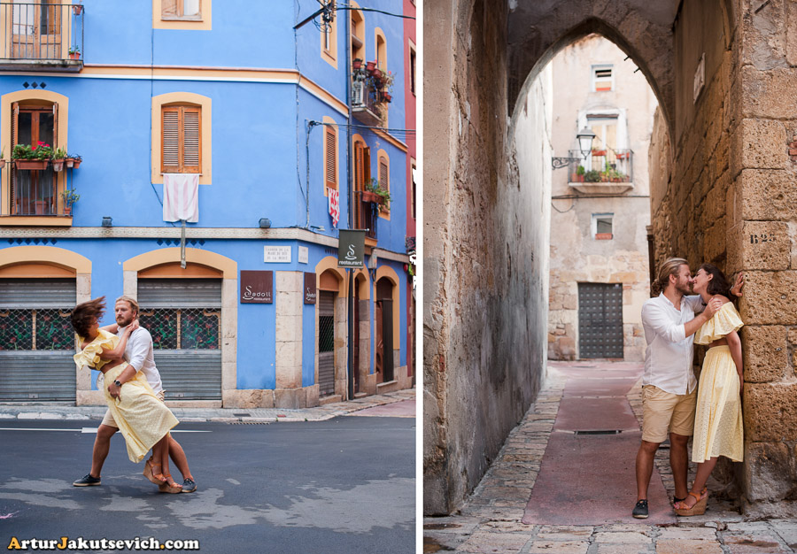 Ideas for a love story photo shooting in Spain
