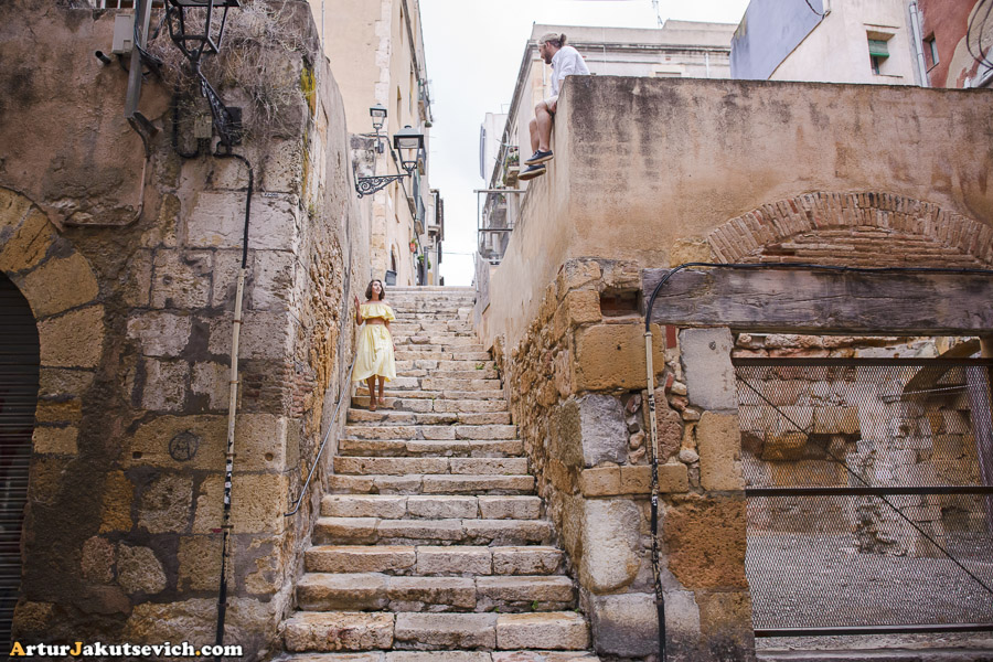 Street photography in Tarragona
