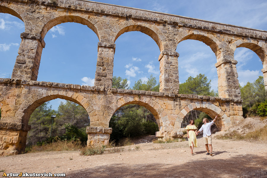 Ancient Aqueduct or Devil's Bridge