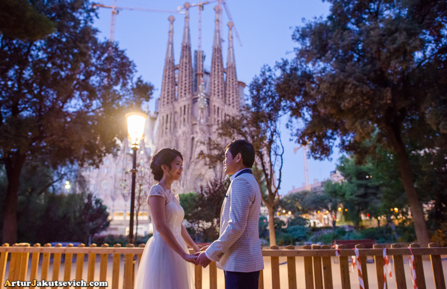 Sagrada Familia photo shooting
