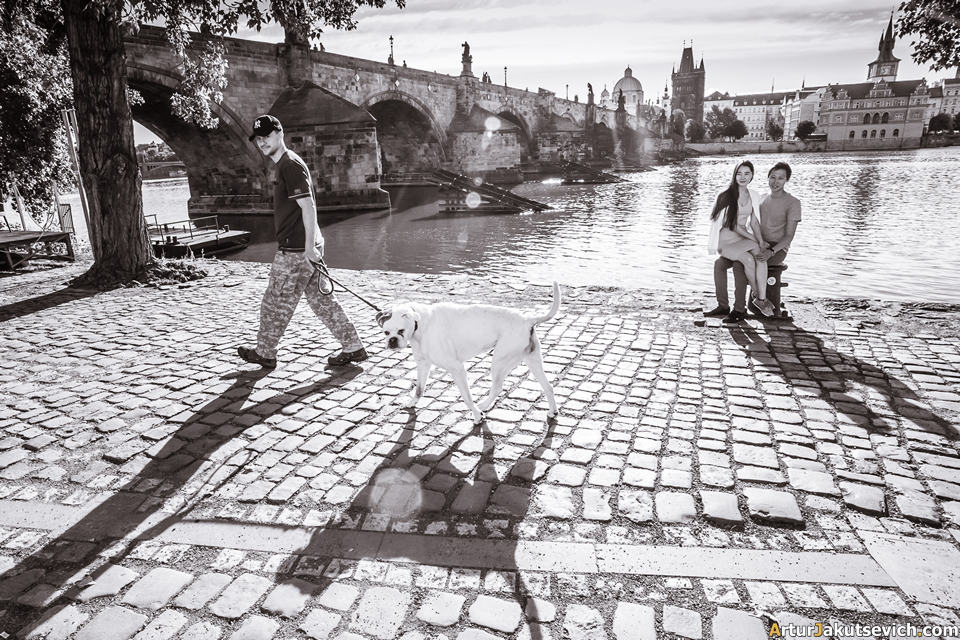 Wedding photographer in Prague