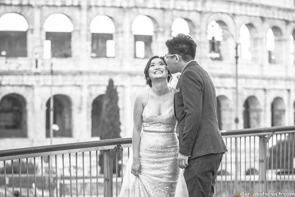 Pre wedding trip to Rome