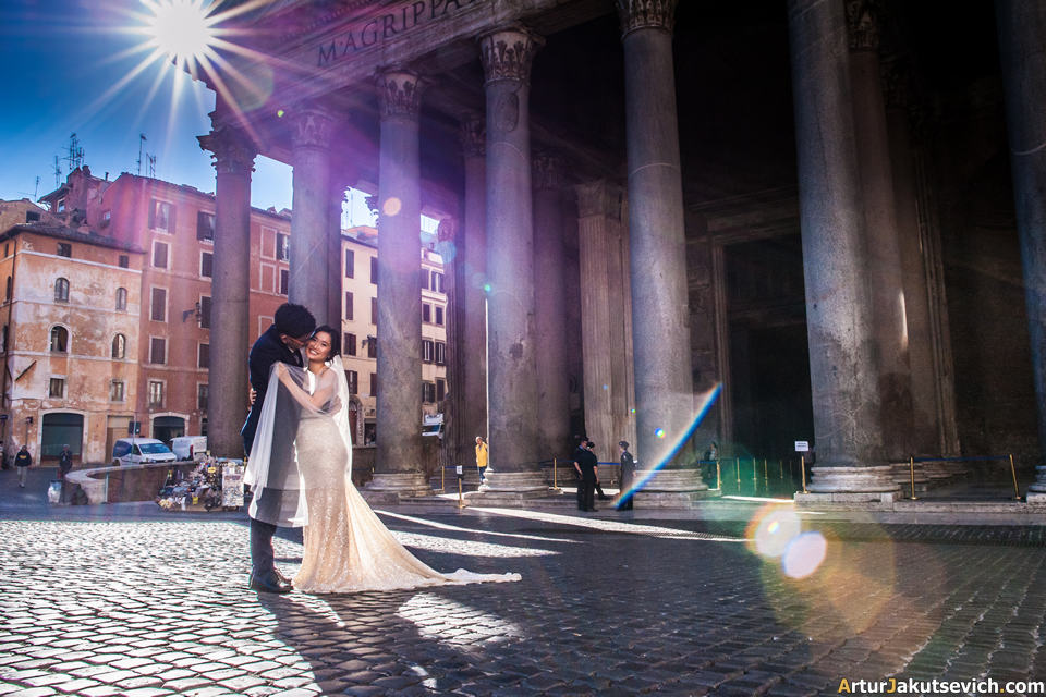 Pre wedding in Rome
